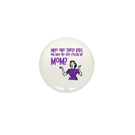 Who Are These Kids Mini Button (10 pack)