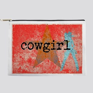 COUNTRY STAR COWGIRL Makeup Bag