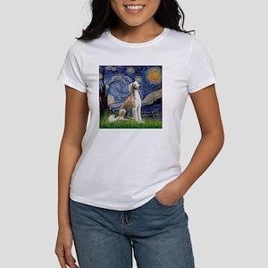 Starry Night / Saluki Women's T-Shirt