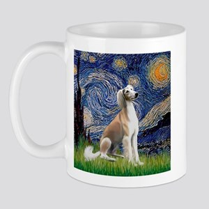 Starry Night / Saluki Mug