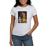 Midsummer's Eve & Saluki Women's T-Shirt