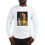 Midsummer's Eve & Saluki Long Sleeve T-Shirt
