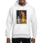 Midsummer's Eve & Saluki Hooded Sweatshirt