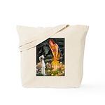 Midsummer's Eve & Saluki Tote Bag