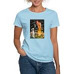 Midsummer's Eve & Saluki Women's Light T-Shirt