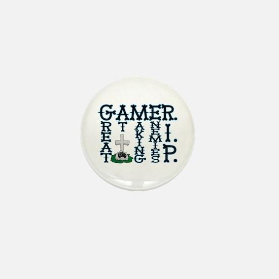 Gamer RIP Mini Button