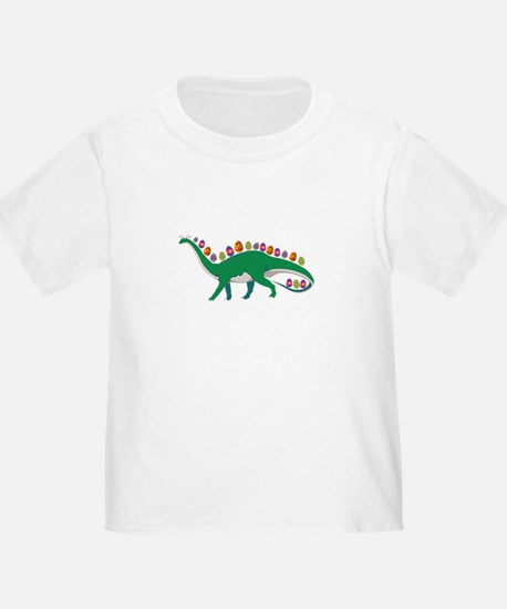 Dinosaur With Easter Eggs and Bunny Ears G T-Shirt