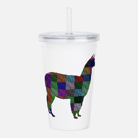 THE PATTERNED WAY Acrylic Double-wall Tumbler