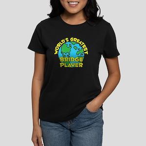World's Greatest Bridg.. (H) Women's Dark T-Shirt