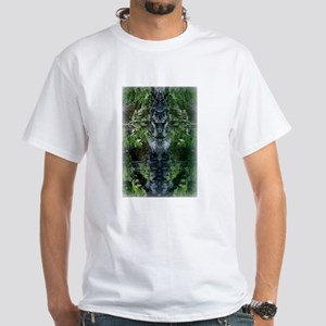Blade & Chalice Stone Totem White T-Shirt
