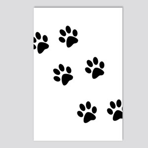 Walk-On-Me Pawprints Postcards (Package of 8)