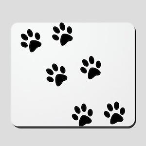 Walk-On-Me Pawprints Mousepad
