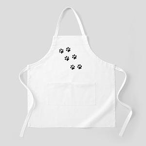 Walk-On-Me Pawprints BBQ Apron