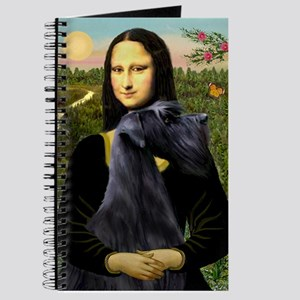 Mona Lisa /giant black Schnau Journal