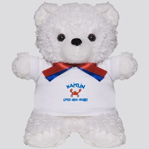 Kaitlin - Little Miss Crabby Teddy Bear