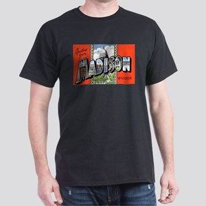 Madison Wisconsin Greetings Ash Grey T-Shirt