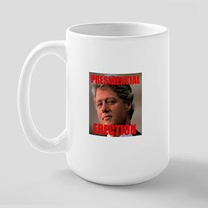 Presidential Erection Large Mug