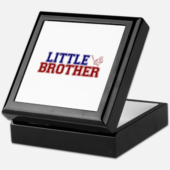 Little Brother Baseball Keepsake Box