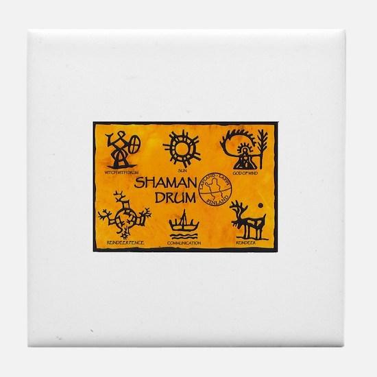 Unique Shaman Tile Coaster