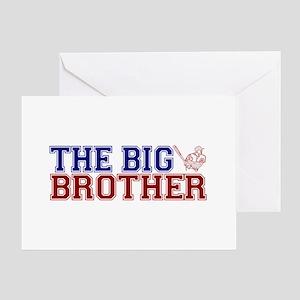 The Big Brother Baseball Greeting Card