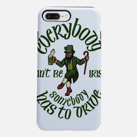 happy saint patrick&#39 iPhone 8/7 Plus Tough Case