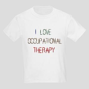 I LOVE OCCUPATIONAL... Kids Light T-Shirt