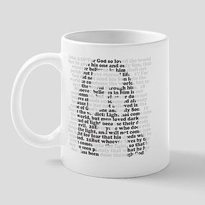 Jesus - John 3:16 - 18 Mug