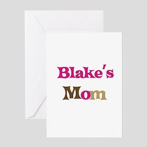 Blake's Mom Greeting Card