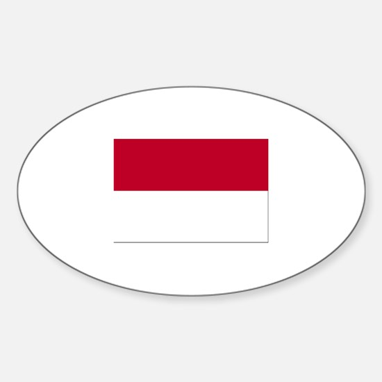 Indonesia Oval Decal