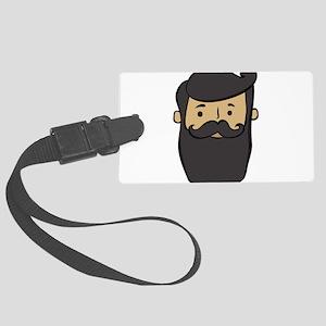 beard Large Luggage Tag