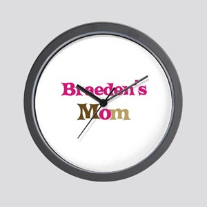 Braeden's Mom  Wall Clock
