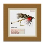 Standard Wet Fly Tile Coaster