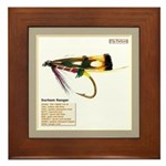 Standard Wet Fly Framed Tile