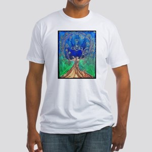 With In the Tree of Life Fitted T-Shirt