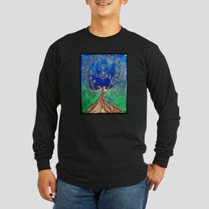 With In the Tree of Life Long Sleeve Dark T-Shirt