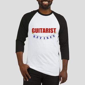 Retired Guitarist Baseball Jersey