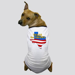 Texas for Obama Dog T-Shirt