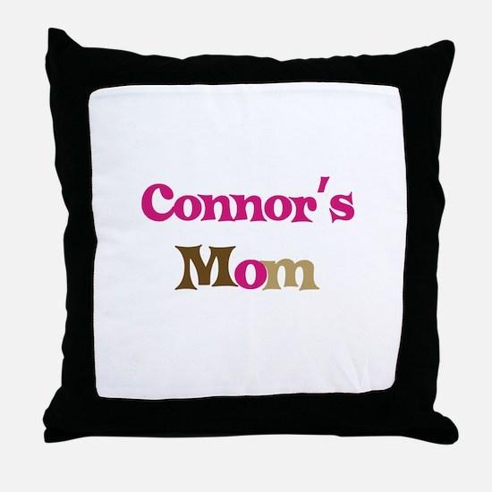 Connor's Mom  Throw Pillow
