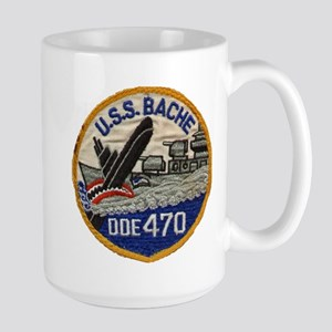 USS BACHE Large Mug