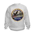 USS BACHE Kids Sweatshirt