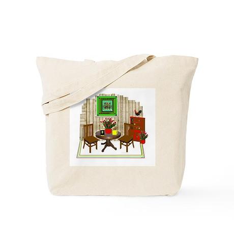 Dining Room Pop Art Tote Bag