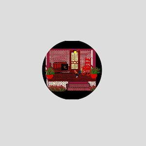 Back Porch Pop Art Mini Button