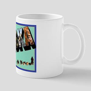 Alaska State Greetings Mug