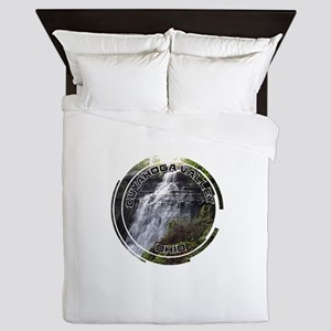 Cuyahoga Valley - Ohio Queen Duvet