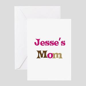 Jesse's Mom Greeting Card