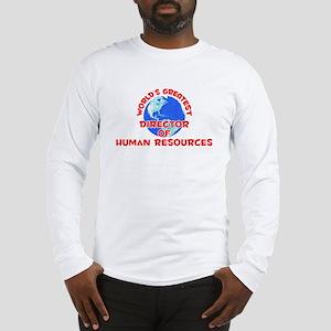 World's Greatest Direc.. (F) Long Sleeve T-Shirt
