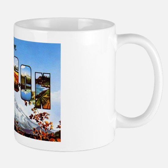 Oregon Greetings Mug
