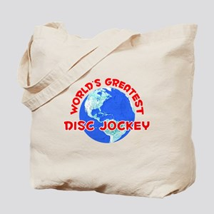 World's Greatest Disc .. (F) Tote Bag
