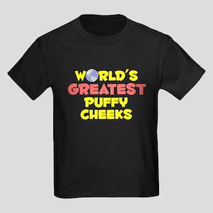World's Greatest Puffy.. (B) Kids Dark T-Shirt