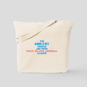 Coolest: Rock Island Ar, IL Tote Bag